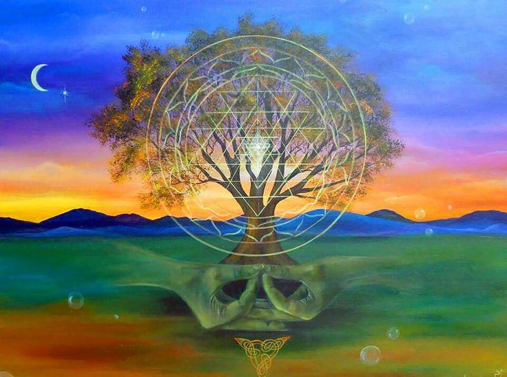 Медитация в родовом потоке