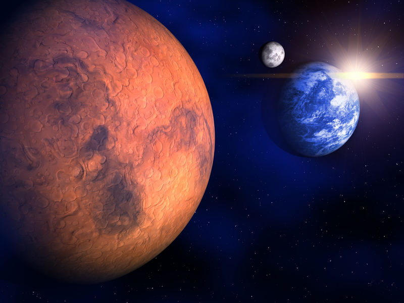 Марс в Стрельце 7 марта — 2 мая 2018